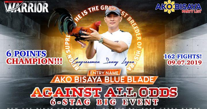 AA0 6 Stag Derby Champion – Ako Bisaya Blue Blade