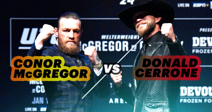 Conor McGregor destroys Donald Cerrone in UFC 246