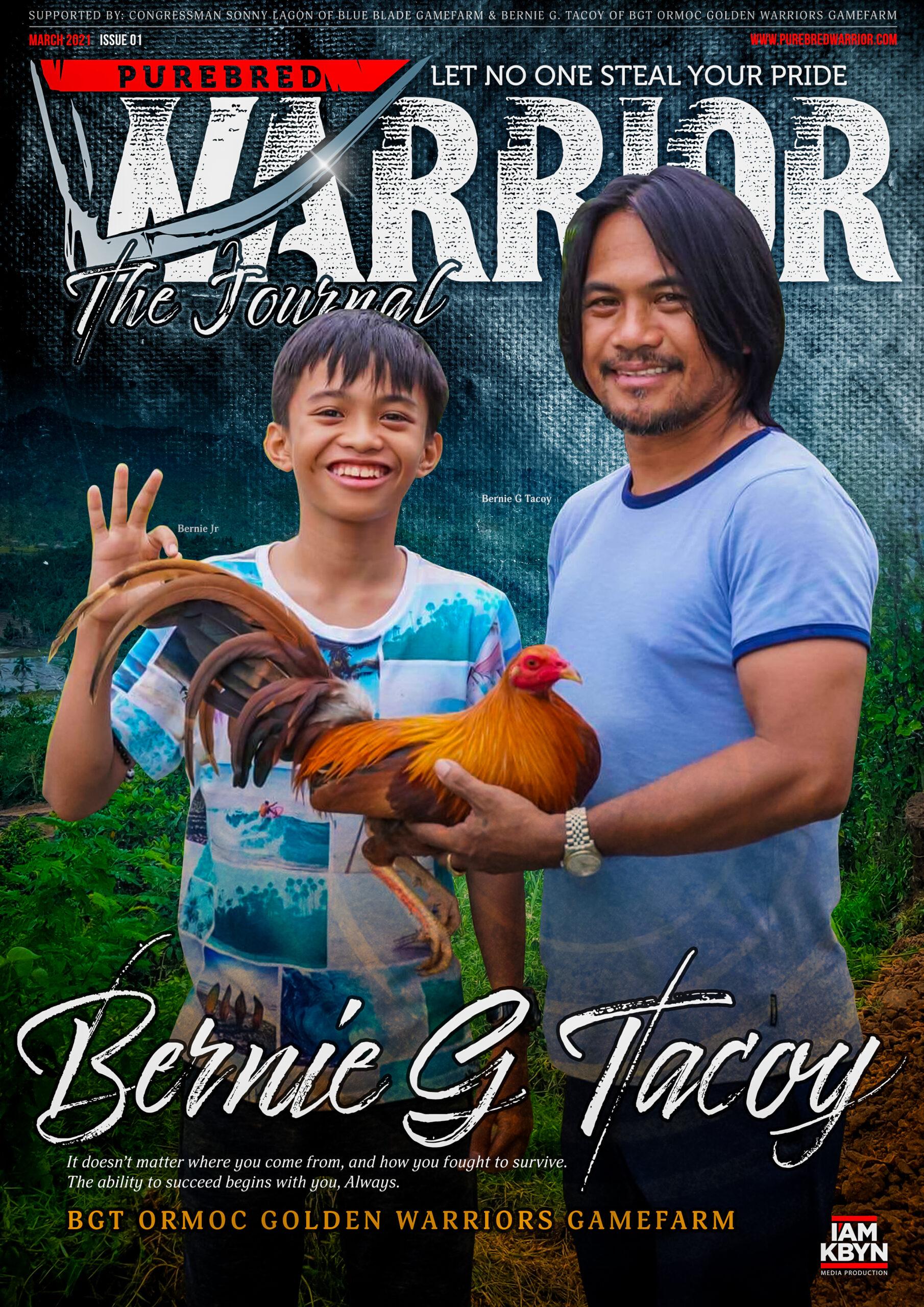 PW The Journal #1 Bernie G Tacoy